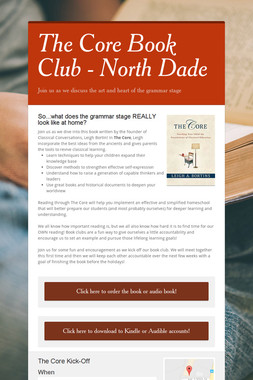 The Core Book Club - North Dade