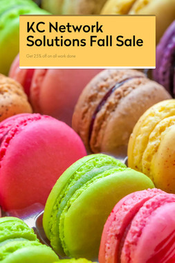 KC Network Solutions Fall Sale