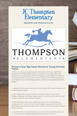 JC Thompson Elementary