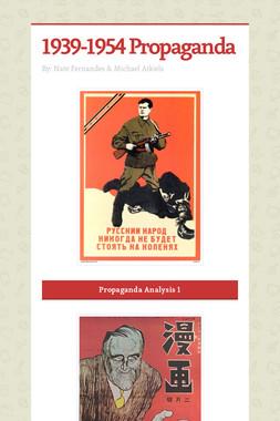 1939-1954 Propaganda