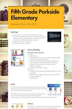 Fifth Grade Parkside Elementary