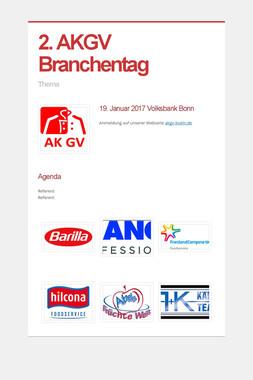 2. AKGV Branchentag