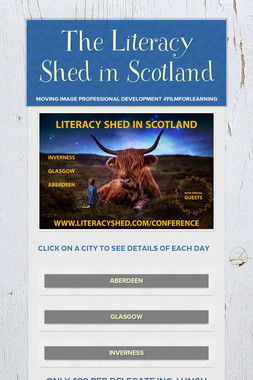 The Literacy Shed in Scotland