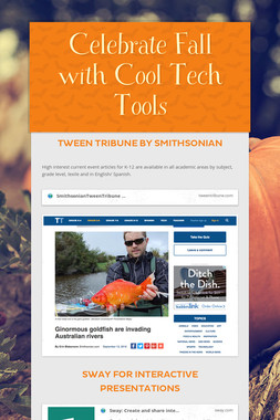 Celebrate Fall with Cool Tech Tools