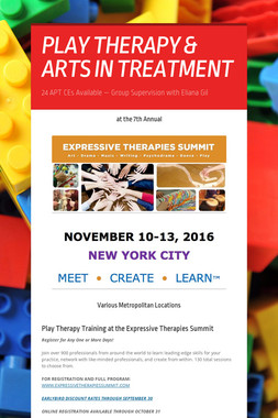 PLAY THERAPY & ARTS IN TREATMENT