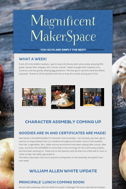 Magnificent MakerSpace