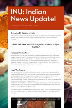 INU:  Indian News Update!