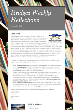 Bridges Weekly Reflections