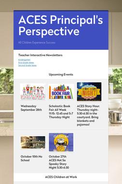ACES Principal's Perspective