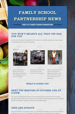 Family School Partnership News