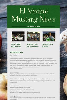El Verano Mustang News