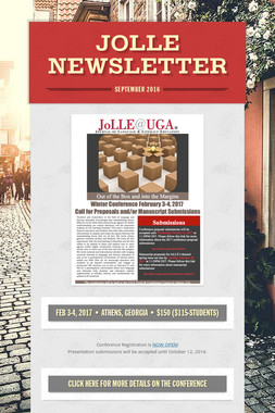 JoLLE Newsletter