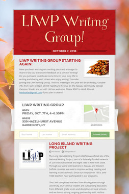 LIWP Writing Group!