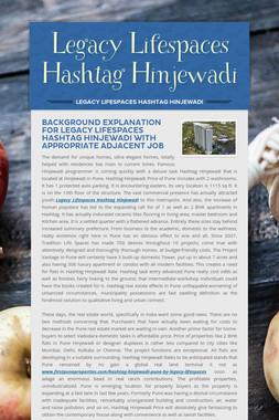 Legacy Lifespaces Hashtag Hinjewadi