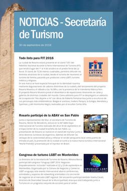 NOTICIAS - Secretaría de Turismo