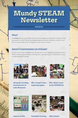 Mundy STEAM Newsletter