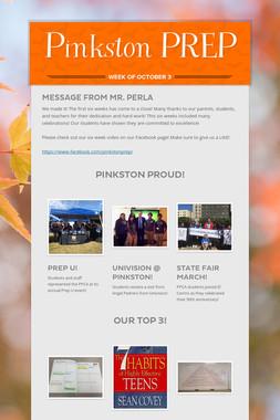 Pinkston PREP