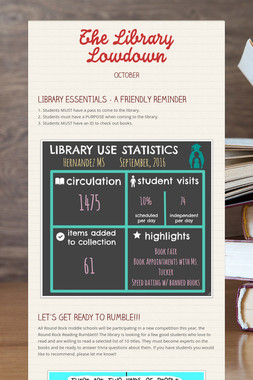 The Library Lowdown