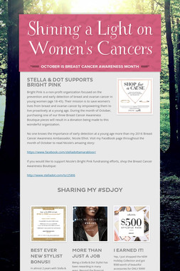 Shining a Light on Women's Cancers