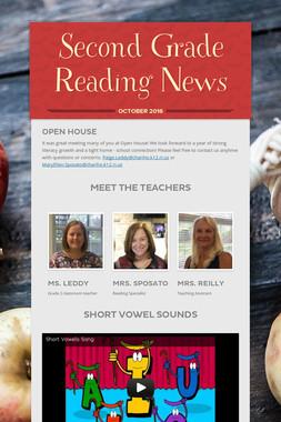 Second Grade Reading News