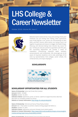 LHS College & Career Newsletter