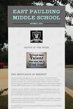 EAST PAULDING MIDDLE SCHOOL
