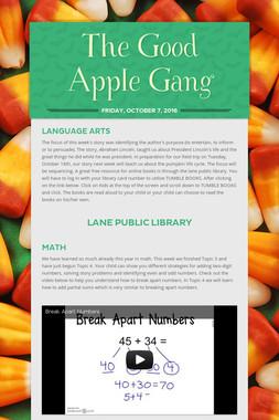 The Good Apple Gang