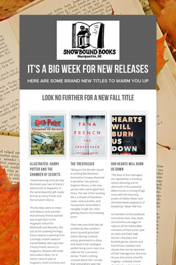 IT'S A BIG WEEK FOR NEW RELEASES