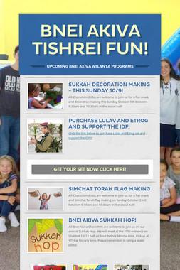 Bnei Akiva Tishrei Fun!
