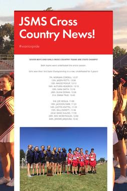 JSMS Cross Country News!