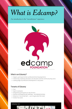 What is Edcamp?
