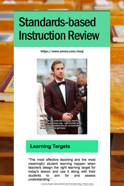 Standards-based Instruction Review