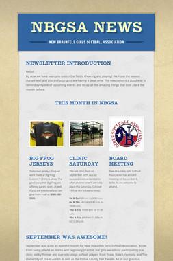 NBGSA News