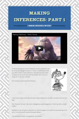 Making Inferences: Part 1