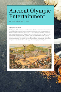 Ancient Olympic Entertainment