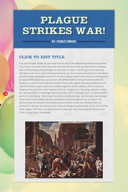 Plague Strikes War!