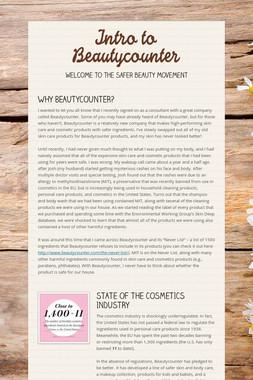 Intro to Beautycounter