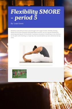Flexibility SMORE - period 5