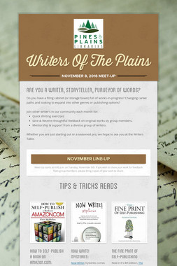 Writers Of The Plains