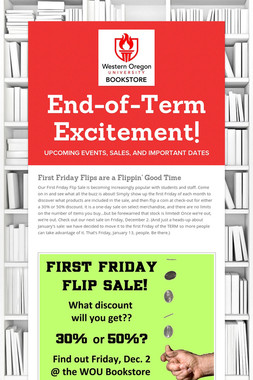 End-of-Term Excitement!