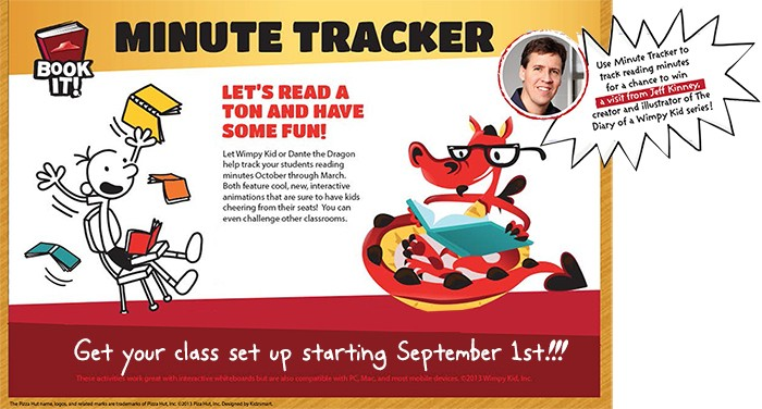 pizza hut book it smore newsletters