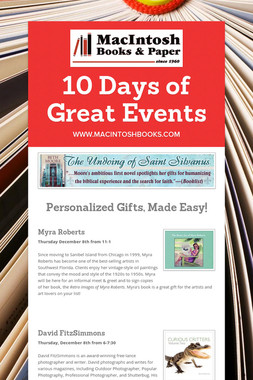 10 Days of Great Events