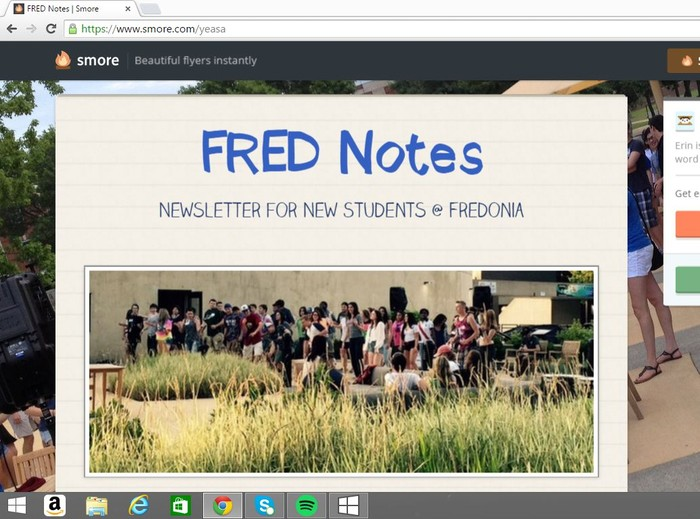FRED NOTES: