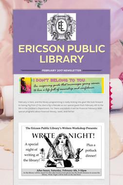 Ericson Public Library