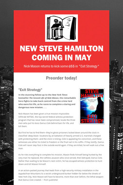 New Steve Hamilton coming in May