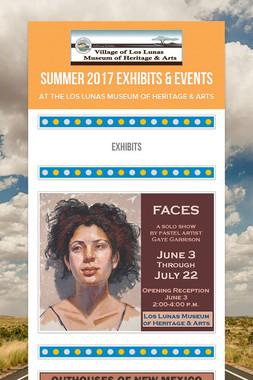 Summer 2017 Exhibits & Events