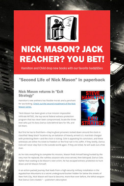 Nick Mason? Jack Reacher? You bet!