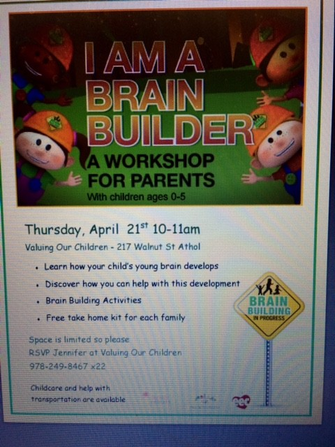 Brain Building Parent Workshop