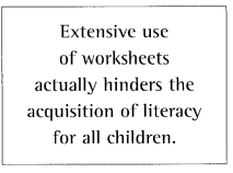 Day 10: Alternatives to Worksheets for the Child with Special ...