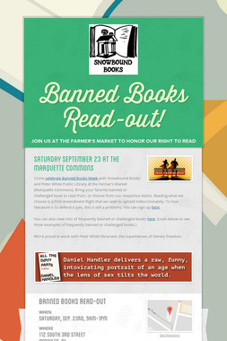 Banned Books Read-out!